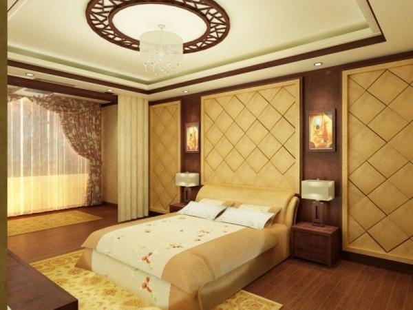 ديكور جبس غرف نوم كويتية