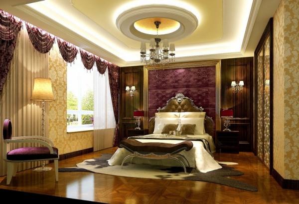 ديكور جبس غرف نوم مغربية