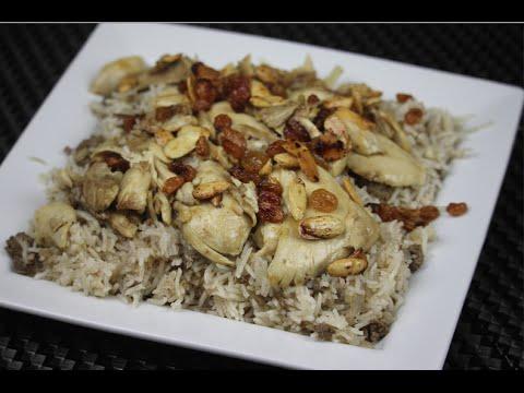 الدجاج اللبناني بالأرز