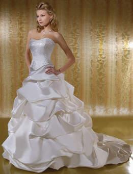 Turkish forms of wedding dresses