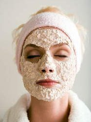 Mask facial cleaning