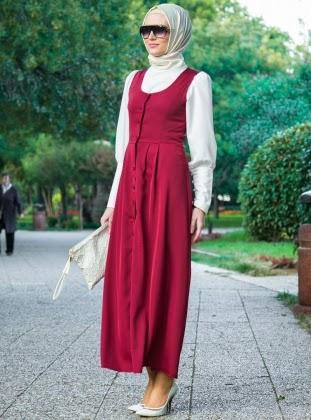اخر صيحات حجابات ربيعية jile-elbise-yelek-bo