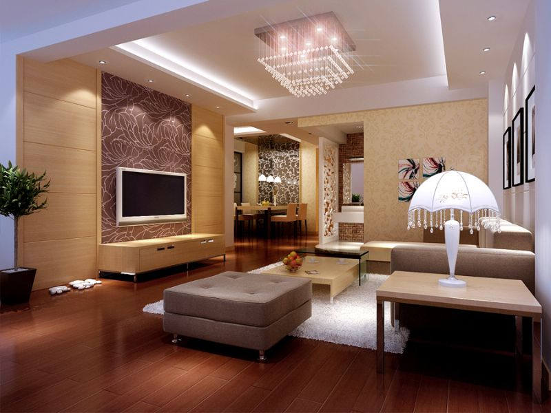 Modern Decor Of The Living Rooms