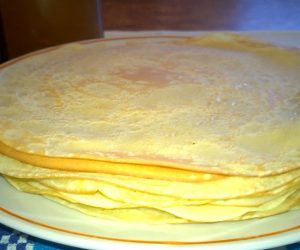 How to make crepe paste
