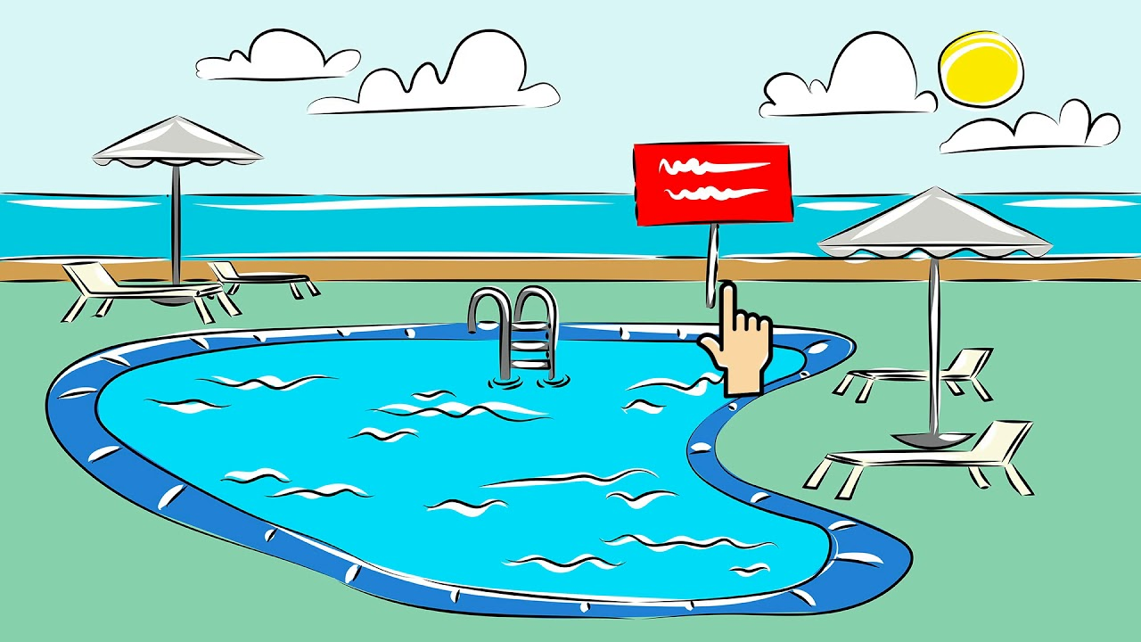 قوانين السباحة