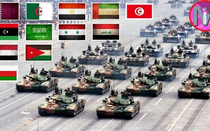 ترتيب الجيوش العربية