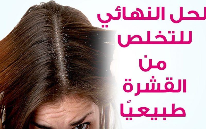 طرق التخلص من قشرة الشعر