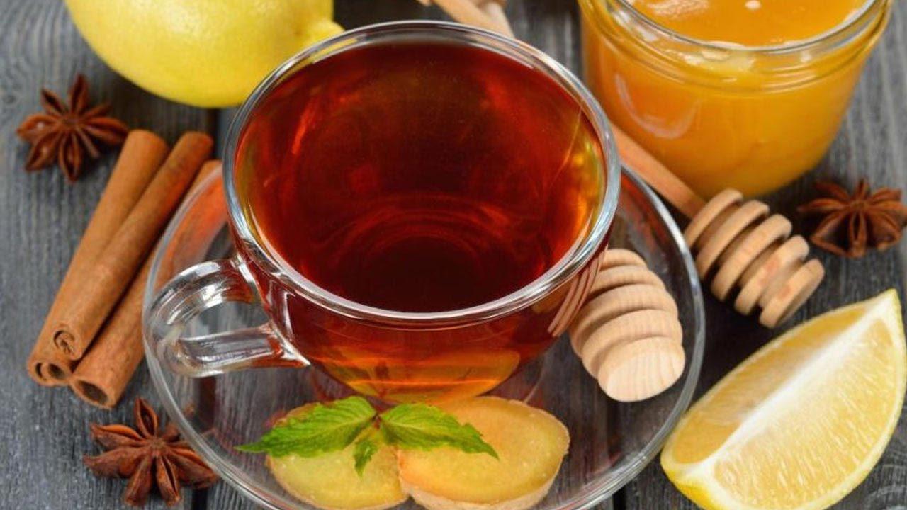 عمل شاي الزنجبيل