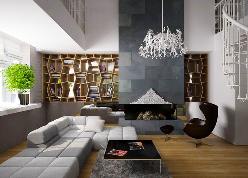 Modern decor of the living rooms for Drawing room pics