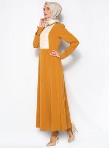 ملابس محجبات للحفلات ملونة 2016 من متاجر تركية