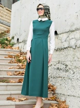 اخر صيحات حجابات ربيعية onden-iki-pileli-elb