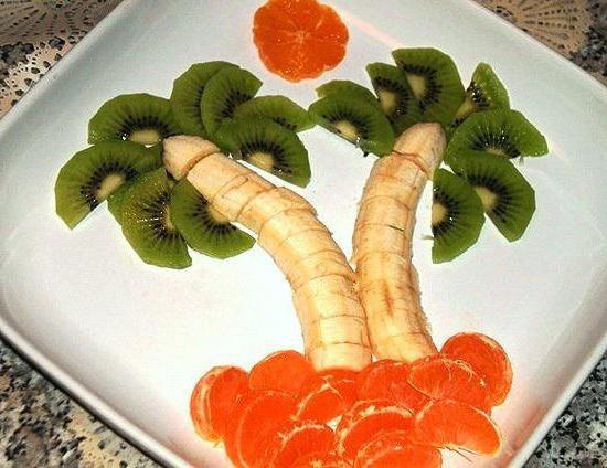 افكار تزيين الفواكه للاطفال