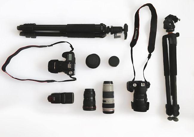 أسماء معدات التصوير الفوتوغرافي