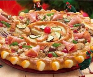 بيتزا بالكفتة بالصور خطوة خطوة مع الفلفل