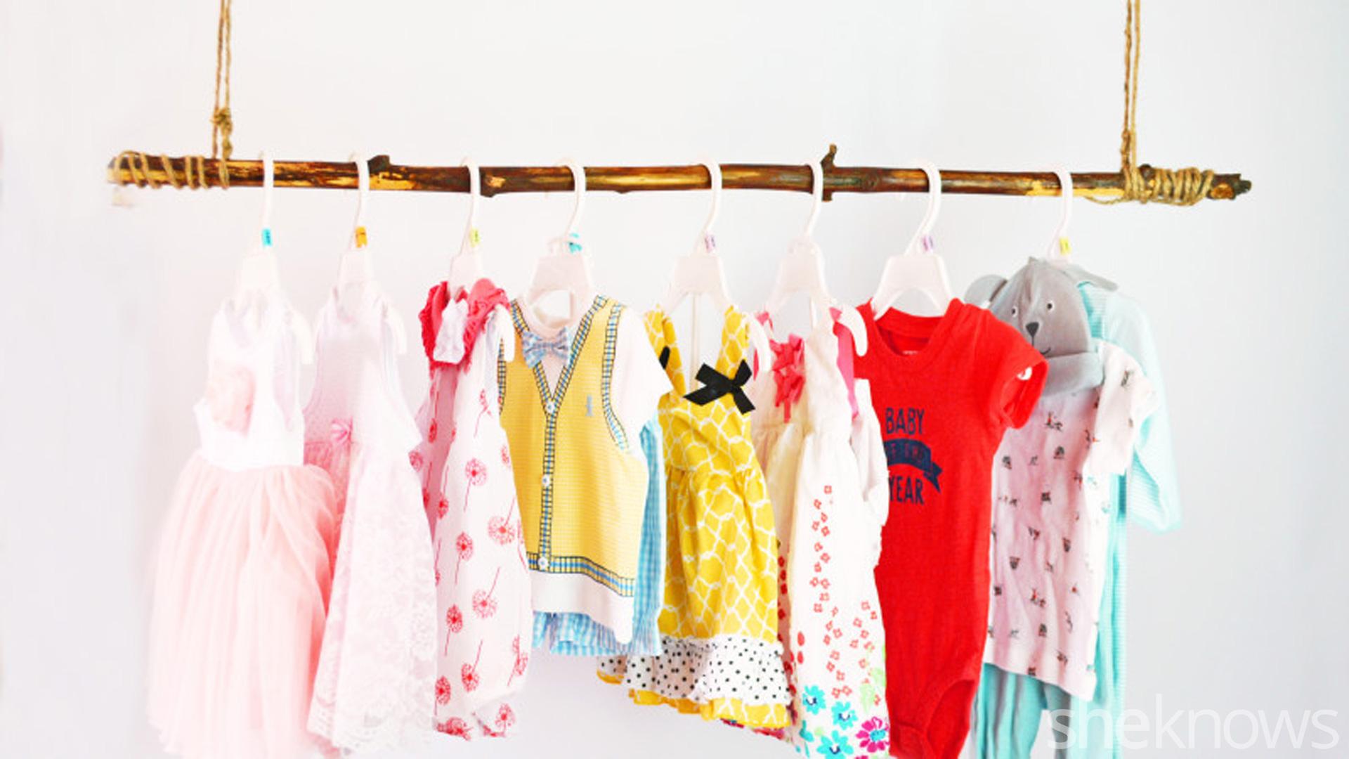 أفكار لترتيب الملابس