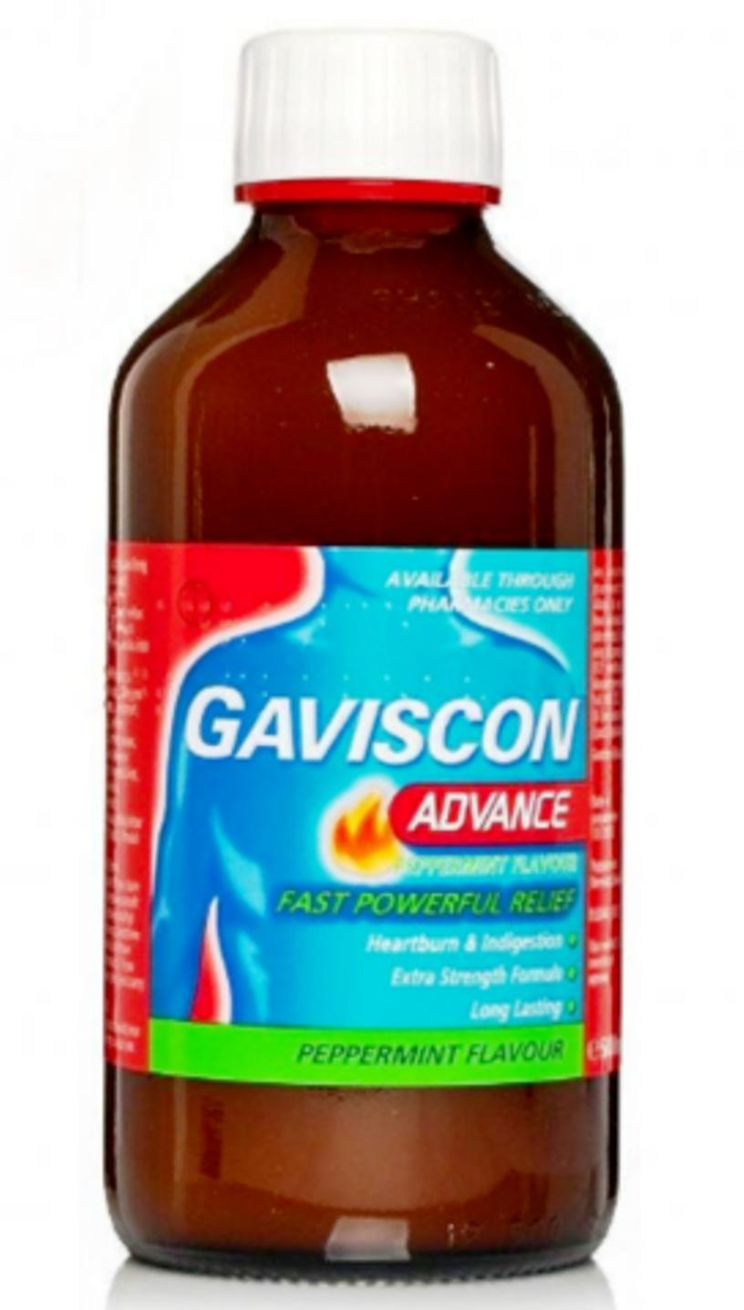 نشرة جافيسكون ادفانسGaviscon Advance للحموضة وحرقان المعدة