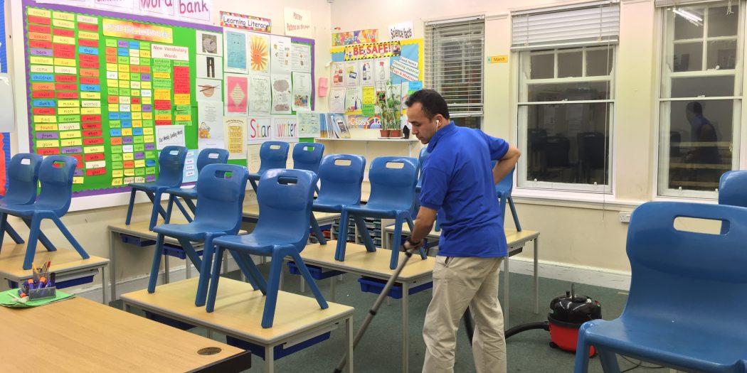 نظافة المدارس