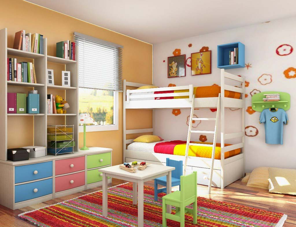 small_ideas_for_decorating_childrens_bedroom
