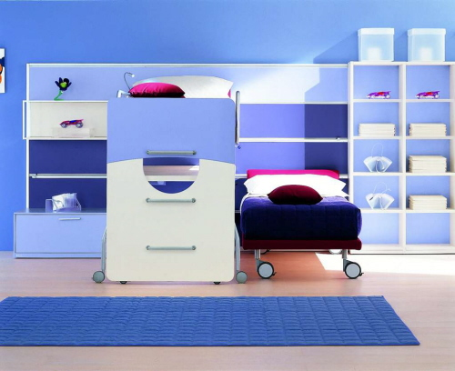 storage furniture and shelving for kids