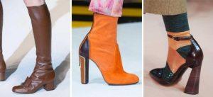 احذية شتوية ملونة 2016