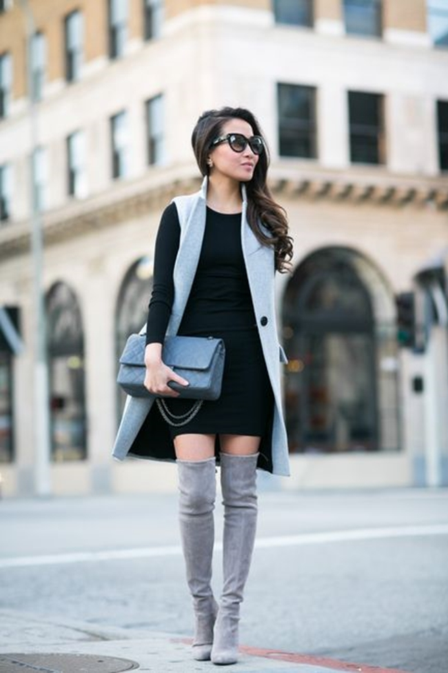 trendy-Sleeveless-Coat-Outfit