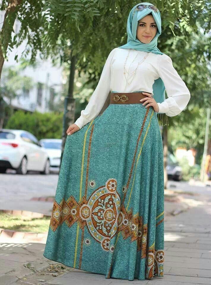 دول العالم. ما يميز ملابس محجبات ستايل تركي أنها تجمع