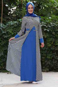 الوانات موضة المحجبات لفساتين الحفلات التركية 2016