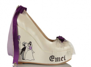 احذية زفاف للعروسة من منتدي فتكات