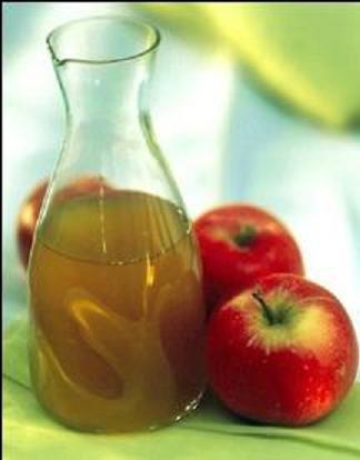 خل التفاح لجفاف الشعر