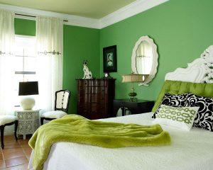 احدث صيحات غرف النوم الزيتون