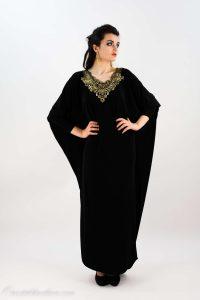 www.fatakat-a.com جلابيات سوداء للنساء موضة 2017robe-arabe-noir