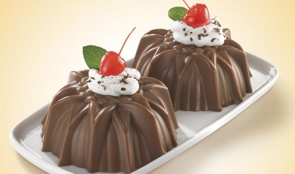 طريقة عمل حلي كاسات الشوكولاته بالجيلاتين
