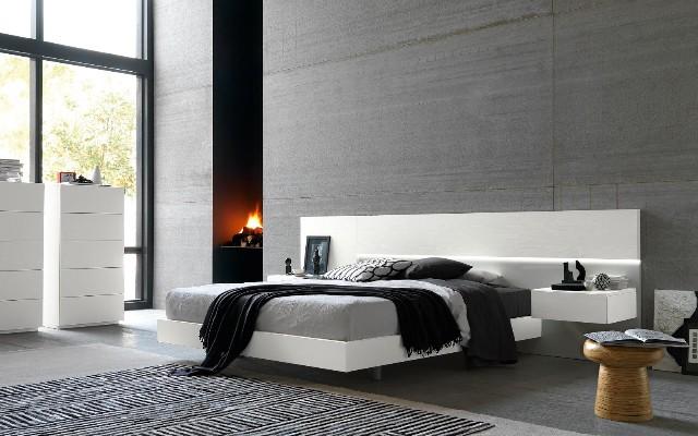 Camera Da Letto Moderna Con Controsoffitta E Parete Attrezzata Interior Design : Tv camera da letto pollici design casa creativa e mobili