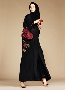 عبايات سواريه للمحجبات سنة 2017