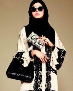 اجمل ملابس العيد للمحجبات سنة 2017