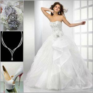 احدث فساتين زفاف اماراتية 2017