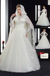 مجموعة من اجمل موديلات فساتين زفاف لبنانية سنة 2016