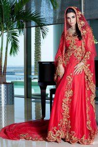 فساتين زفاف هندية اسلامية 2016