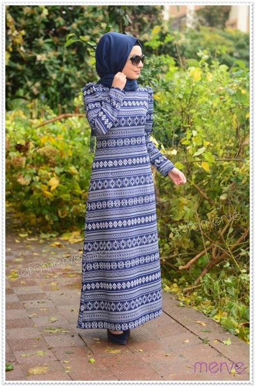 www.fatakat-a.com فساتين محجبات تركية 2016tubanur-yeni-elbise-modelleri-02