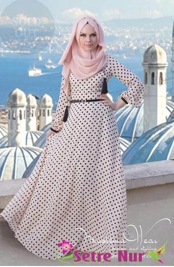 Retro fashion for muslimah 99