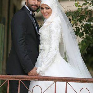 فساتين محجبات زفاف 2016