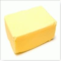 مكعبات زبدة صفراء للاعداد الباشميل