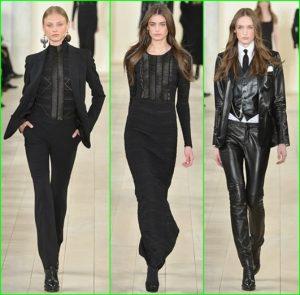 ملابس جلدية شتوية سوداء 2016