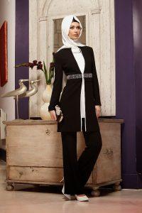 ملابس محجبات سوداء صيفية 2016