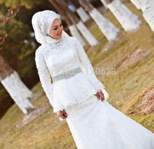 فسياتين زفاف اسلامية جديدة 2016