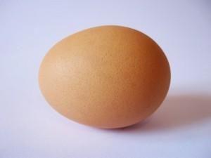 بيضة واحدة لاعداد عجين الكيك او التورتة