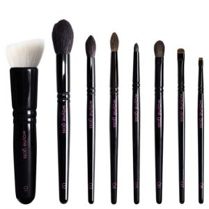 To commemorate the second anniversary of its launch on Beautylish, Wayne Goss is reissuing the best-selling Brush set that started it all. Everything you love about The Collection, reimagined in a new limited edition release. The Anniversary Set includes an updated release of the popular Brush 01 (limited edition) and introduces the new Brush 05 which will become a permanent addition to The Collection. Each Brush has been meticulously handcrafted by traditional artisans in Kumano, Japan with jewel tone name and number lasering on the handles unique to the Anniversary Set.