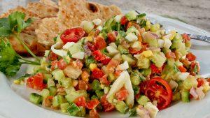 www.fatakat-a.com Israeli-Salad-w-tahini-dressing-1-5