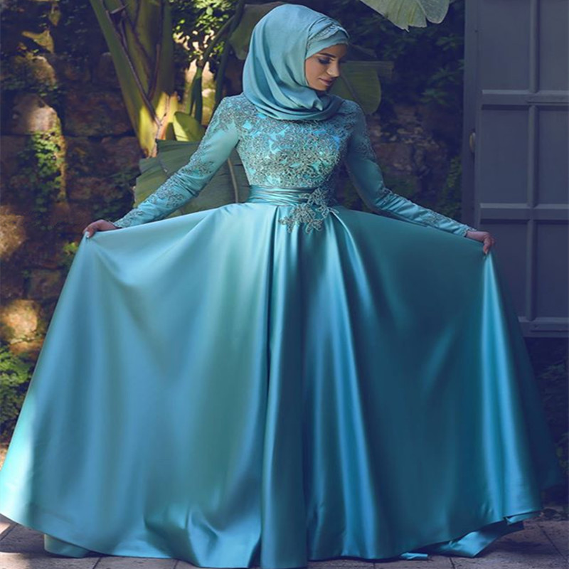 www.fatakat-a.comEvening-font-b-Dress-b-font-For-Muslim-Women-Long-Sleeve-Prom