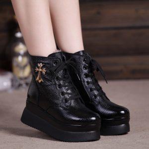 احذية شتوية بناتي ٢٠١٧
